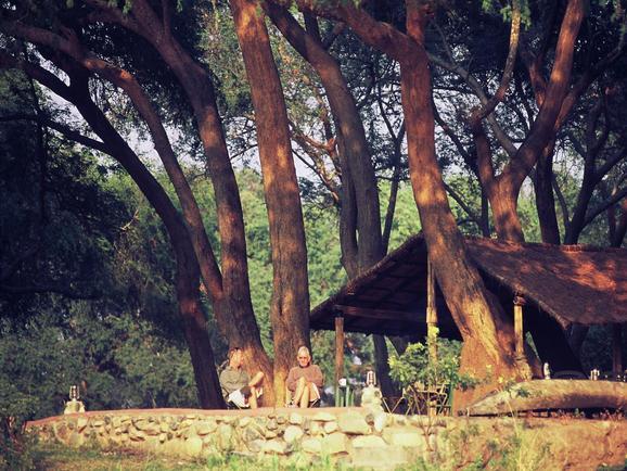 Chongwe River Camp - tent exterior