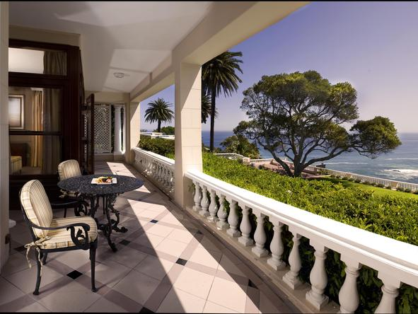 Ellerman House - Patio