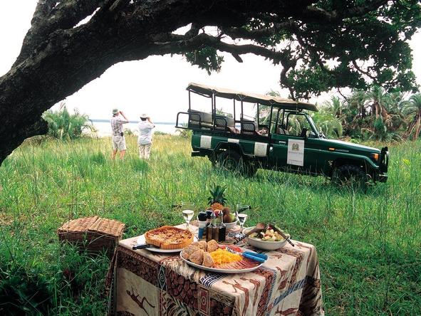 Makakatana Bay Lodge - game drive