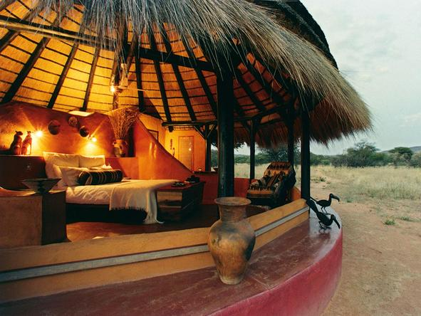 Okonjima Bush Camp - Bedroom