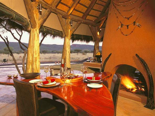 Okonjima Bush Camp - Dining