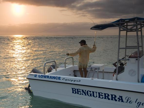 Benguerra Lodge - Fishing
