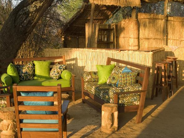 Chikoko Tree Camp - outdoor lounge