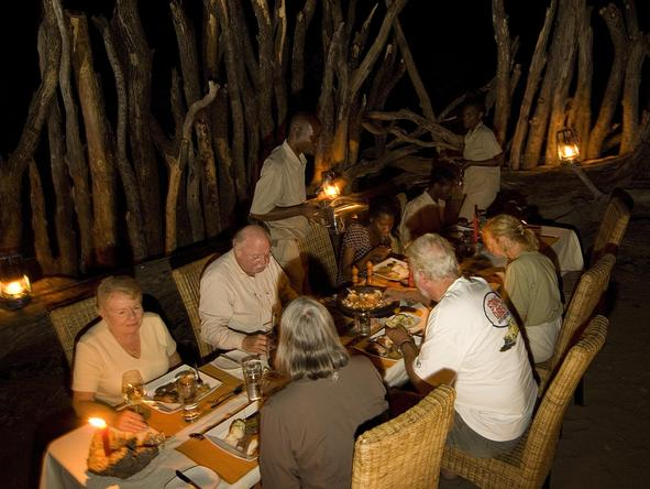 Linyanti Bush Camp - Dining 2