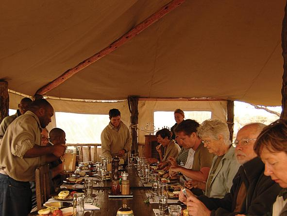 Linyanti Bush Camp - Dining