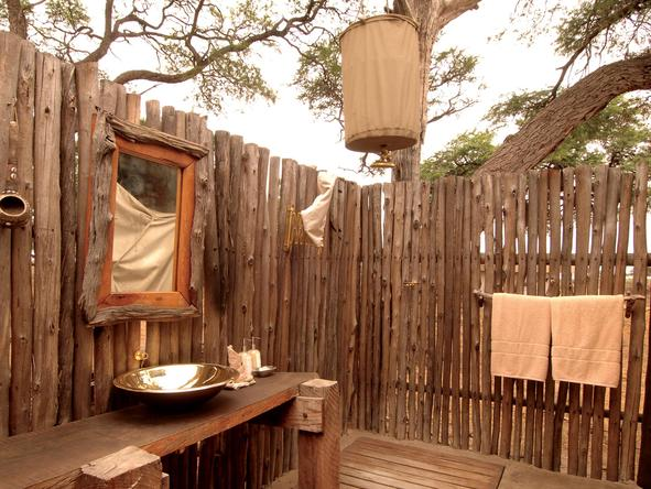 Linyanti Bush Camp - Bathroom