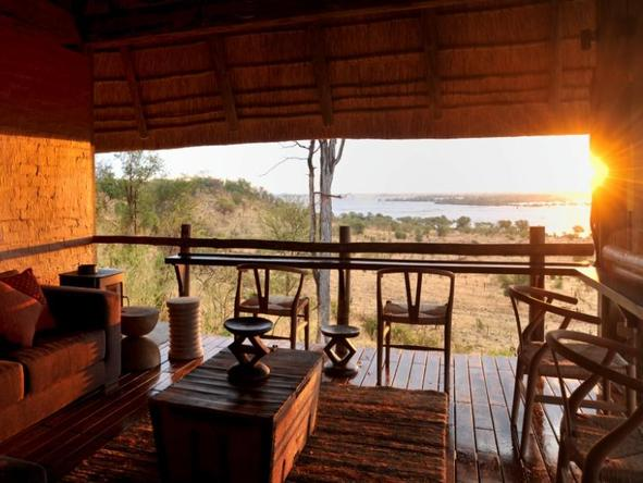 Ngoma Safari Lodge - Lounge