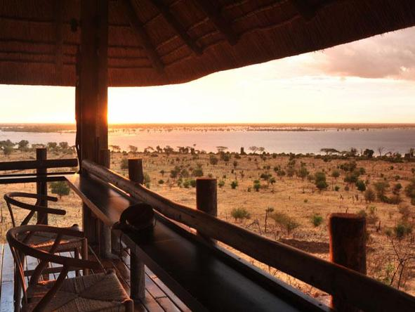 Ngoma Safari Lodge - Deck