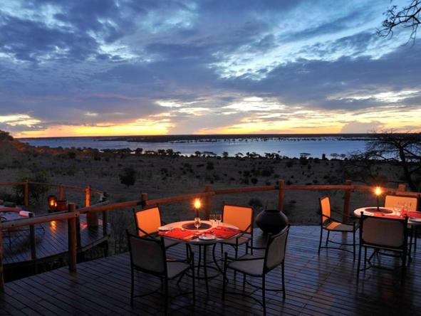 Ngoma Safari Lodge - Dining