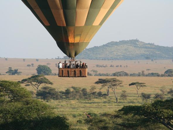 Serengeti Tented Camp - hot air balloon ride