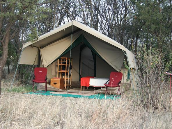 Serengeti Tented Camp - private tent