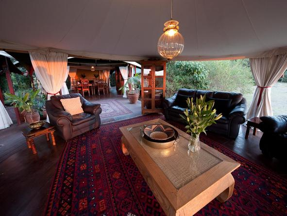 Mara Plains - sitting area