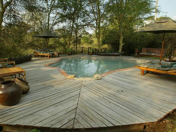 Mvuu Lodge - Pool