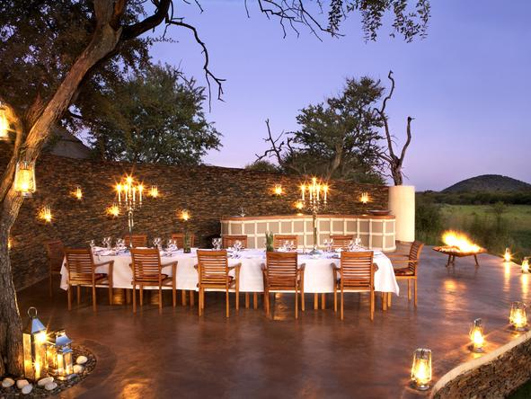 Jamala Madikwe Royal Safari Lodge - Dining