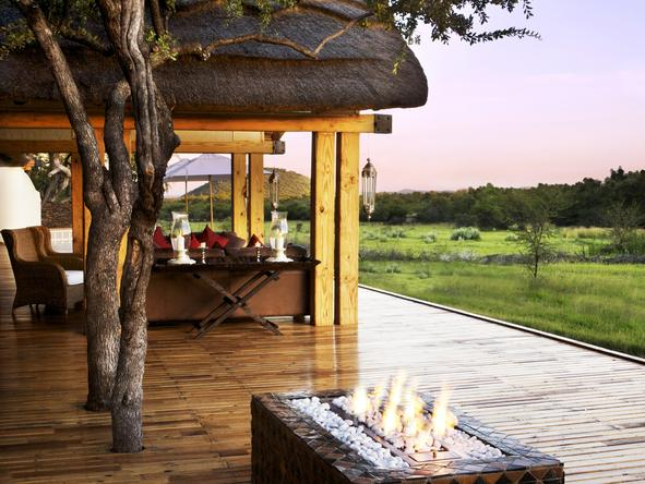 Jamala Madikwe Royal Safari Lodge - Deck