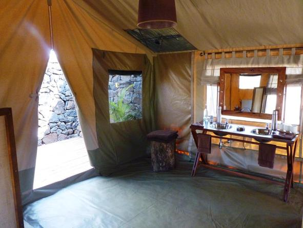 Naboisho Camp - Bedroom 2
