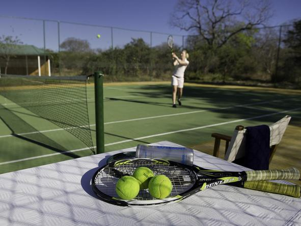 The River Club Tennis Court
