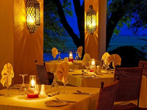 Chobe Game Lodge - luxury lodge dining