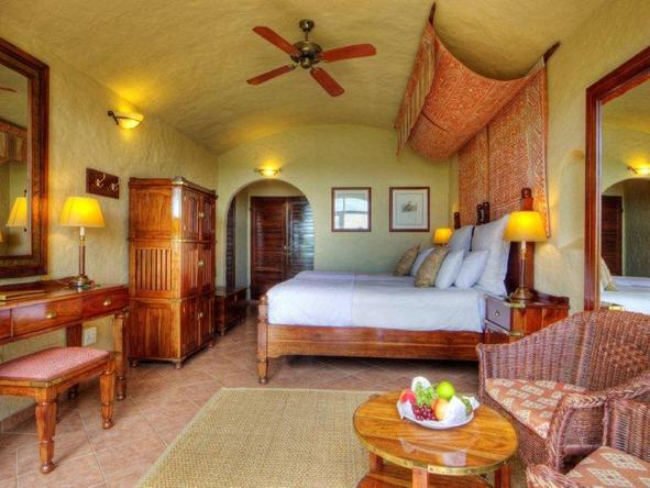 Chobe Game Lodge - bedroom at the lodge