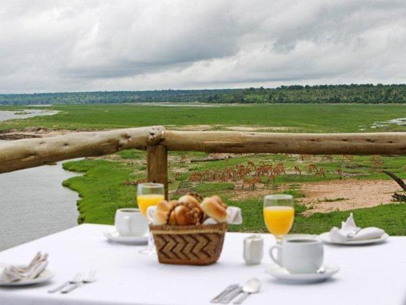 Chobe Game Lodge - expansive views of Chobe National Park