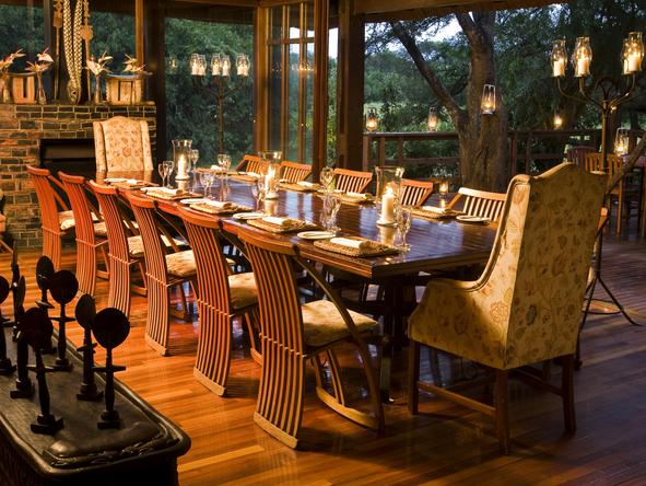 Phinda Vlei Lodge - Dining