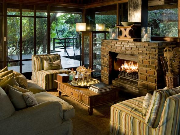 Phinda Vlei Lodge - Lounge