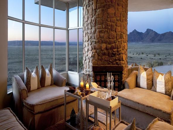 Sossusvlei Desert Lodge -Lounge View