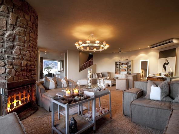 Sossusvlei Desert Lodge -Lounge