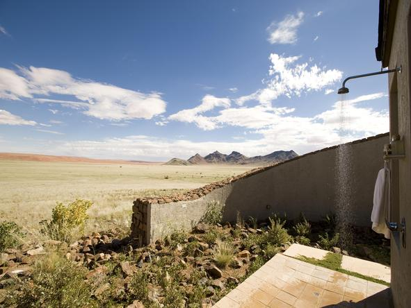 Sossusvlei Desert Lodge - Outside Shower