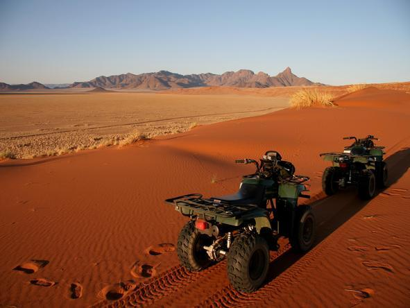 Sossusvlei Desert Lodge -Quad Biking