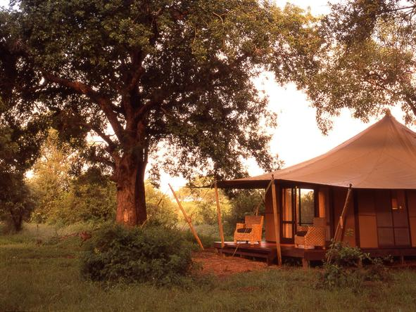 Ngala Tented Safari Camp - outside view