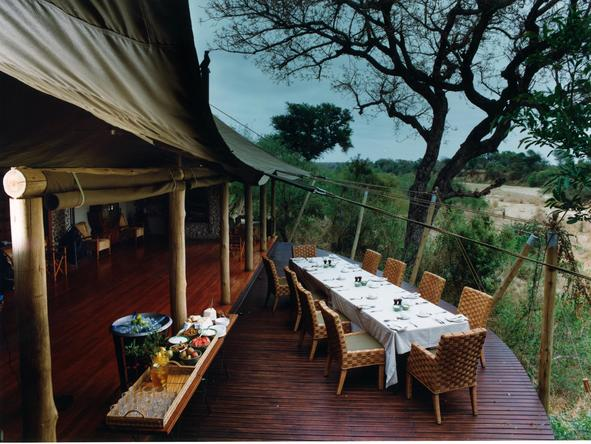 Ngala Tented Safari Camp - Dining