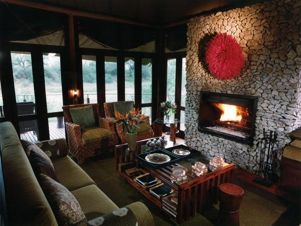 Ngala Tented Safari Camp - Lounge