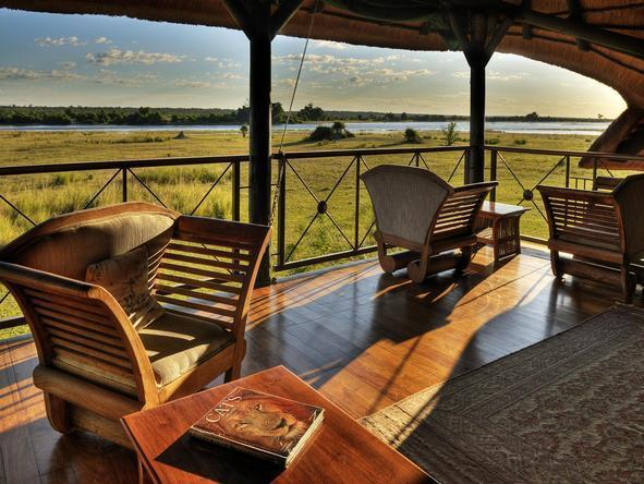 Chobe Savannah Lodge - Deck