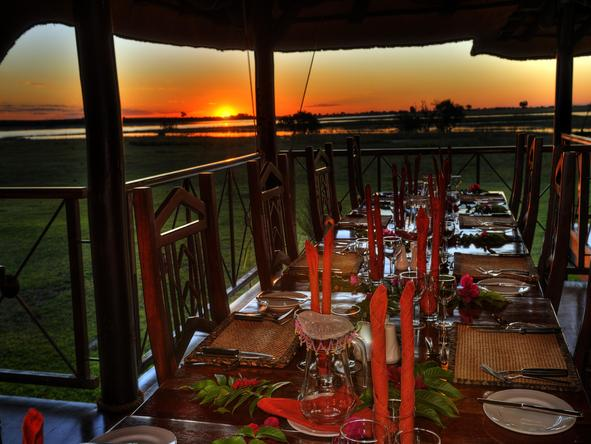 Chobe Savannah Lodge - Dining