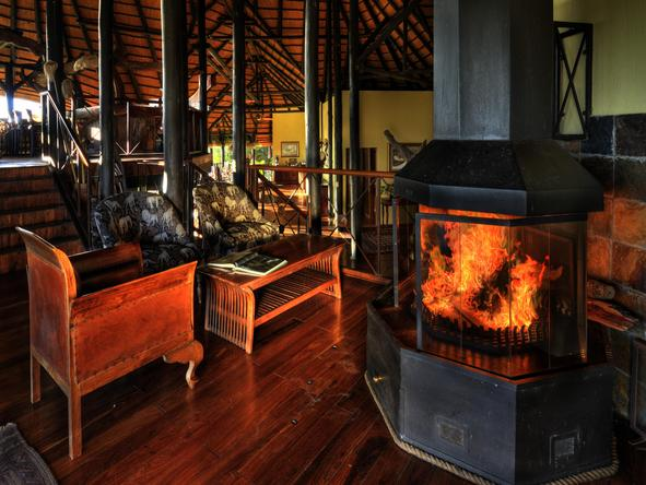 Chobe Savannah Lodge - Lounge