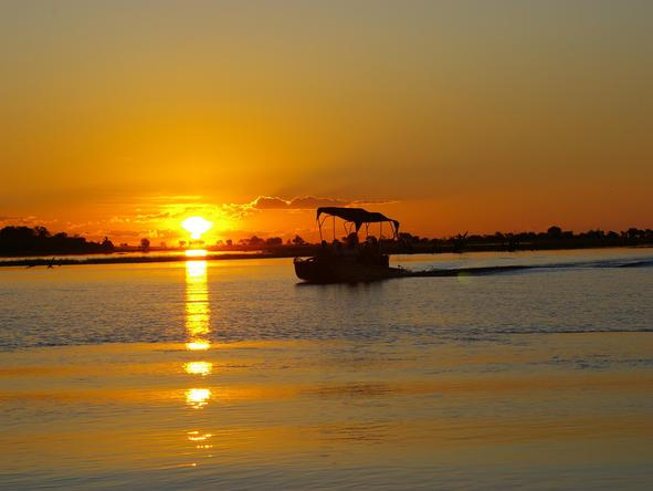 Chobe Savannah Lodge - Boat Ride