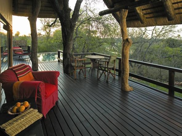 Singita Ebony Lodge - Deck