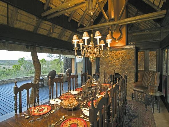 Singita Ebony Lodge - Dining