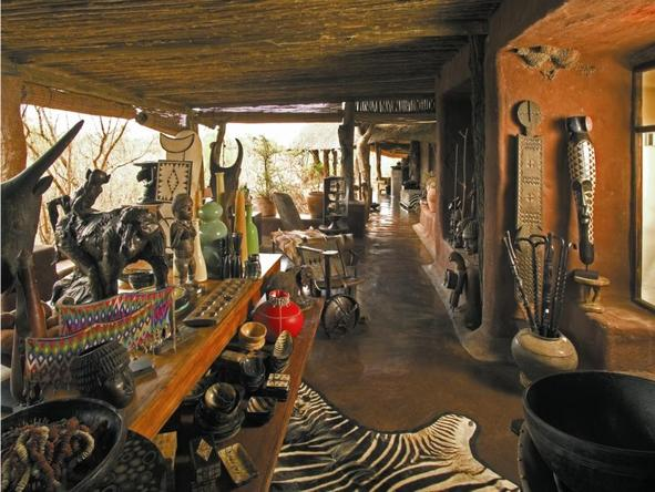 Singita Ebony Lodge - Curio Shop