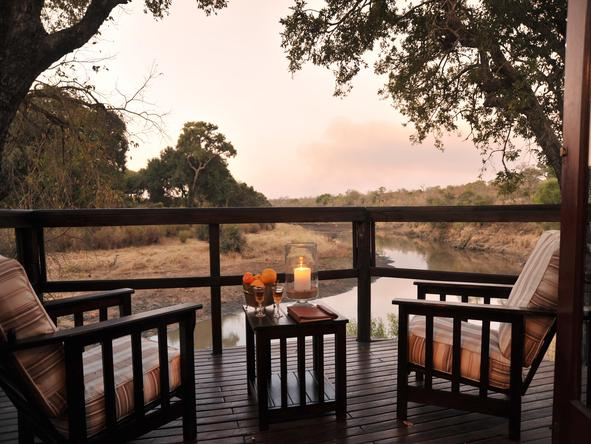 Hamiltons Tented Camp - Private Deck