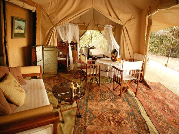 Cottars 1920's Safari Camp - Tents