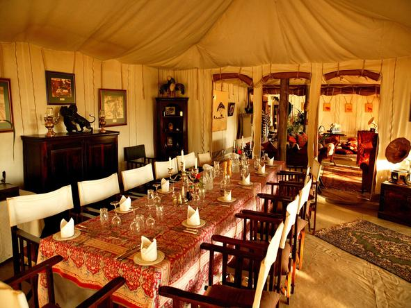 Cottars 1920's Safari Camp - Dining