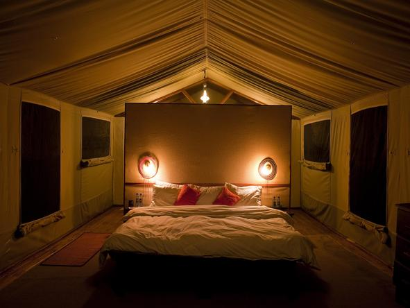 Kusini - romantic tented camp