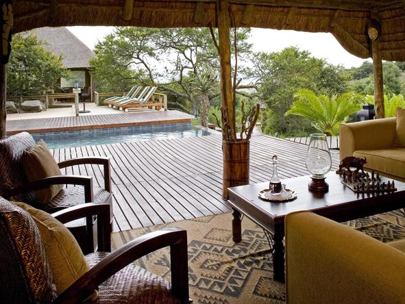 Bukela Lodge - Deck