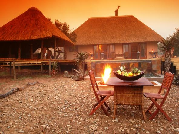 Bukela Lodge - Romantic Dinner