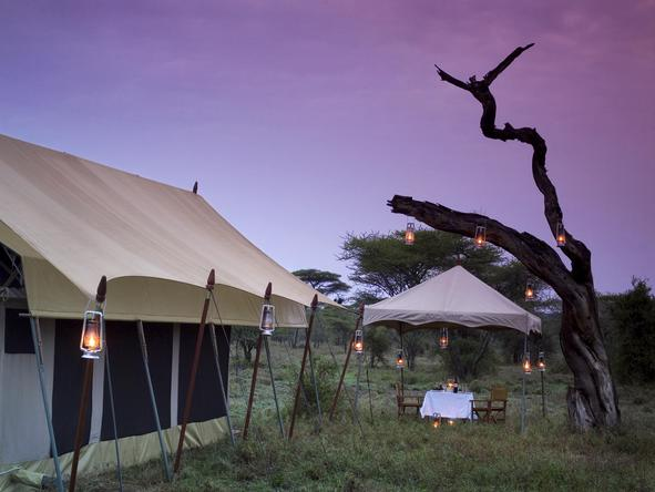 Serengeti Under Canvas -Dining