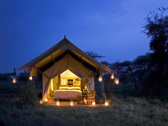 Serengeti Under Canvas - Bedroom