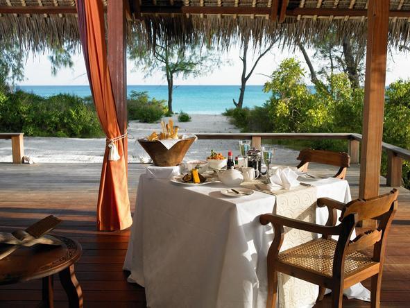 Vamizi Island Lodge - Dining