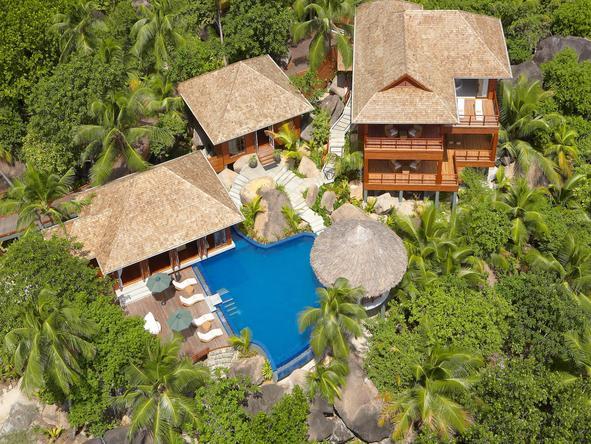 Hilton Seychelles Labriz Resort and Spa - Bird-view